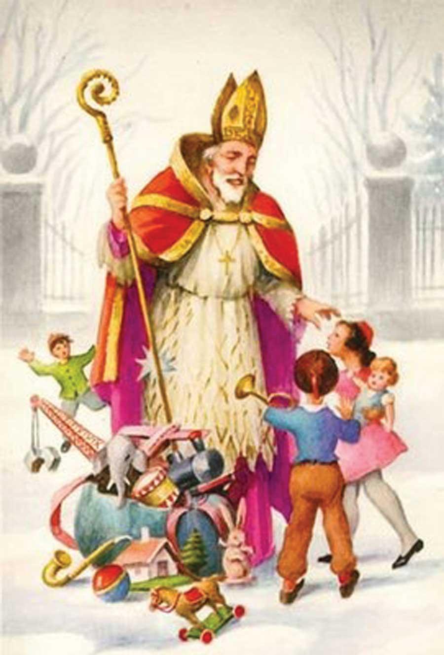 Kết quả hình ảnh cho saint nicolas et père fouettard