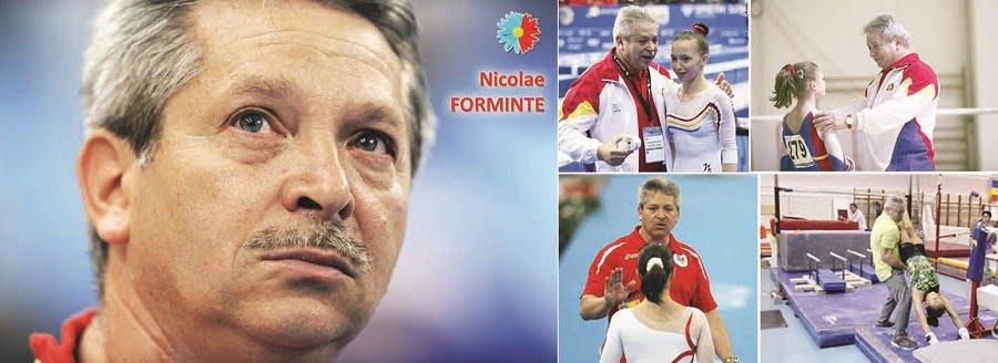 Antrenorul gimnasticii româneşti, Nicolae Forminte, premiat de societatea civilă