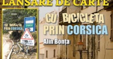 """""""Cu bicicleta prin Corsica"""" – un nou volum de călătorii lansat la Deva"""