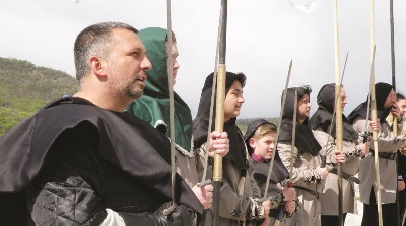Garda Cetăţii Deva a sărbătorit un an de la înfiinţare